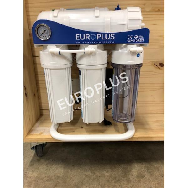 filtration naturelle, filtre à eau sous évier