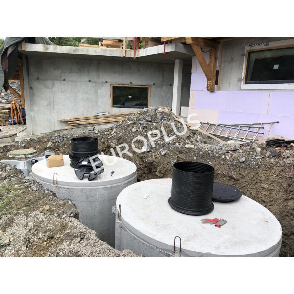 Récupération d'eau de pluie, cuve béton eau de pluie rhône alpes