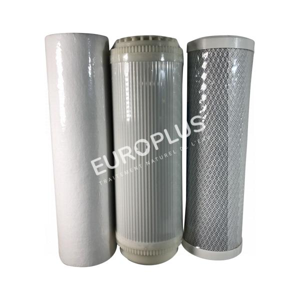 filtres,trio de filtre pour osmoseur inverse en rhône alpes