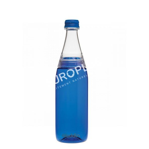 bouteille d'eau, bouteille d'eau en tritan bleue en rhône alpes