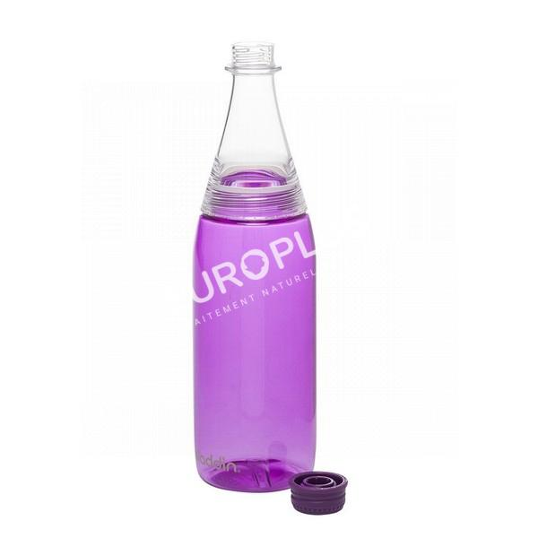 bouteille d'eau, bouteille d'eau en tritan violette en rhône alpes