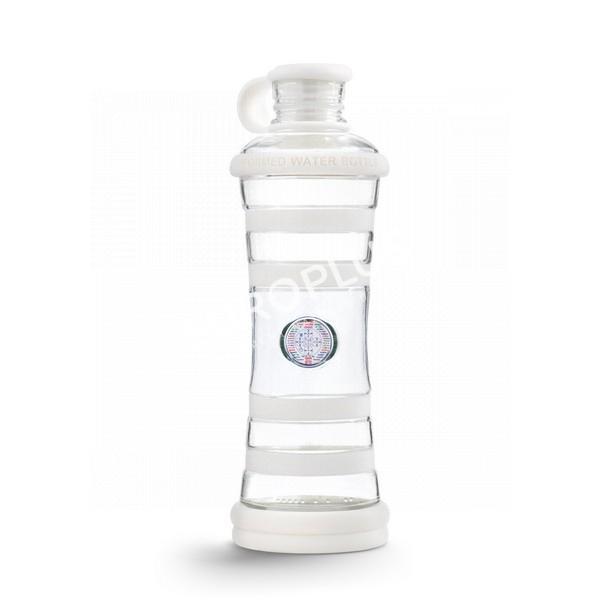 bouteille d'eau, bouteille i9 blanc chakra en rhône alpes