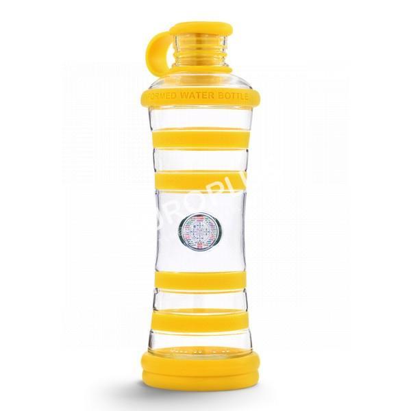 bouteille d'eau, bouteille i9 jaune chakra en rhône alpes
