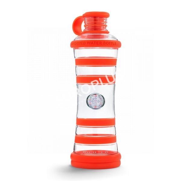 bouteille d'eau, bouteille i9 orange chakra en rhône alpes