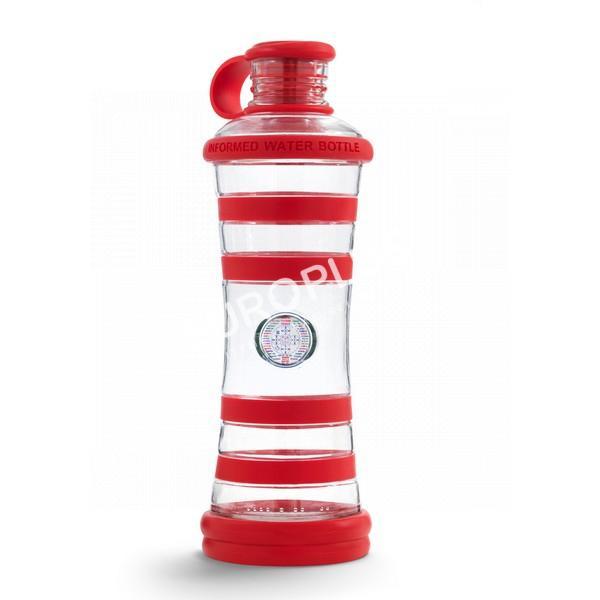 bouteille d'eau, bouteille i9 rouge chakra en rhône alpes
