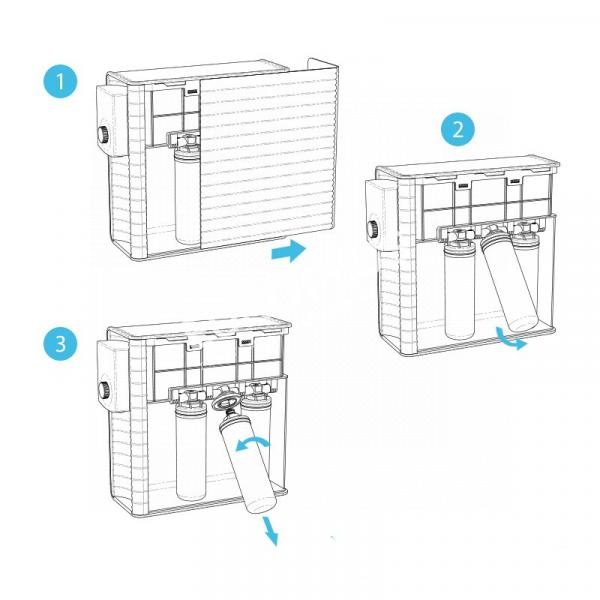 filtration naturelle, osmoseur inverse pura up en rhône alpes