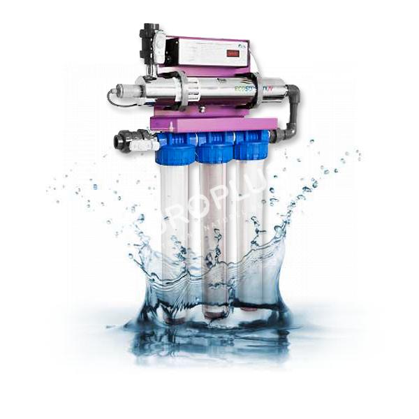 filtration naturelle, potabilisation par filtration ultra violet rhône alpes