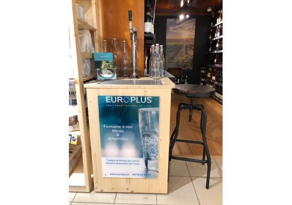 actualités, fontaine à eau filtrée biocoop à Craponne