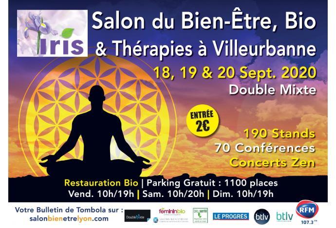 Salon du Bien-Être, bio & Thérapies à Villeurbanne